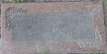 BARNES, CHARLES T - Tulsa County, Oklahoma | CHARLES T BARNES - Oklahoma Gravestone Photos