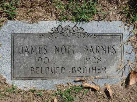 BARNES, JAMES NOEL - Tulsa County, Oklahoma | JAMES NOEL BARNES - Oklahoma Gravestone Photos