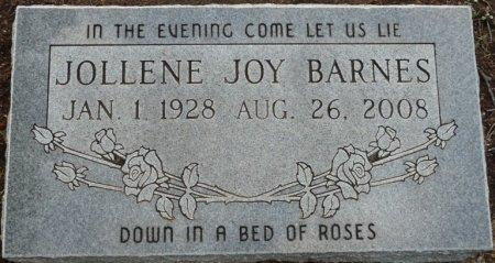 BARNES, JOLLENE JOY - Tulsa County, Oklahoma | JOLLENE JOY BARNES - Oklahoma Gravestone Photos