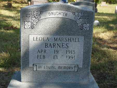 BARNES, LEOLA - Tulsa County, Oklahoma | LEOLA BARNES - Oklahoma Gravestone Photos