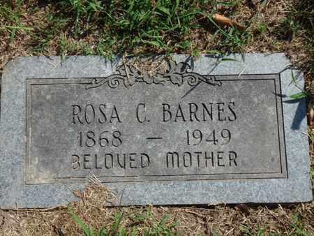 BARNES, ROSA C. - Tulsa County, Oklahoma | ROSA C. BARNES - Oklahoma Gravestone Photos
