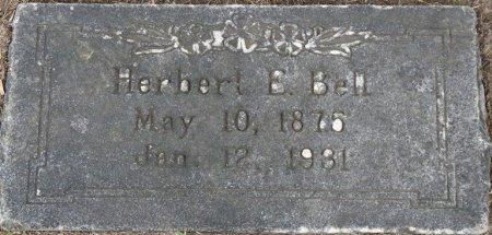 BELL, HERBERT E - Tulsa County, Oklahoma | HERBERT E BELL - Oklahoma Gravestone Photos