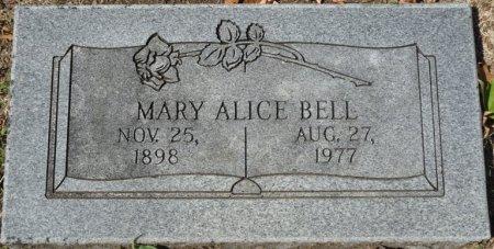 BELL, MARY ALICE - Tulsa County, Oklahoma | MARY ALICE BELL - Oklahoma Gravestone Photos