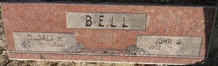 BELL, JOHN W - Tulsa County, Oklahoma | JOHN W BELL - Oklahoma Gravestone Photos