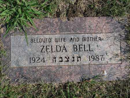 BELL, ZELDA - Tulsa County, Oklahoma | ZELDA BELL - Oklahoma Gravestone Photos