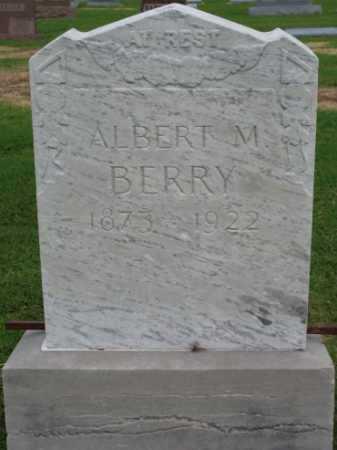 BERRY, ALBERT M - Tulsa County, Oklahoma | ALBERT M BERRY - Oklahoma Gravestone Photos
