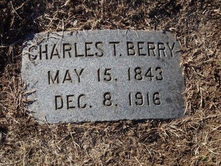 BERRY, CHARLES T. - Tulsa County, Oklahoma | CHARLES T. BERRY - Oklahoma Gravestone Photos