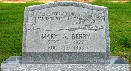 BERRY, MARY A - Tulsa County, Oklahoma | MARY A BERRY - Oklahoma Gravestone Photos