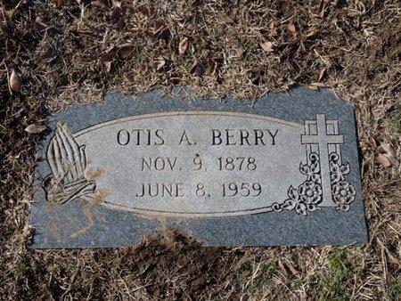 BERRY, OTIS A. - Tulsa County, Oklahoma   OTIS A. BERRY - Oklahoma Gravestone Photos