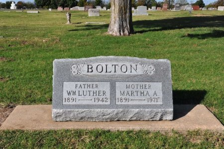 BOLTON, WILLIAM LUTHER - Tulsa County, Oklahoma | WILLIAM LUTHER BOLTON - Oklahoma Gravestone Photos