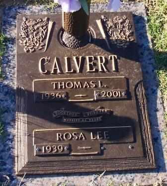 CALVERT, THOMAS LEROY - Tulsa County, Oklahoma | THOMAS LEROY CALVERT - Oklahoma Gravestone Photos