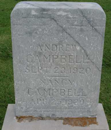 CAMPBELL, NANCY - Tulsa County, Oklahoma | NANCY CAMPBELL - Oklahoma Gravestone Photos