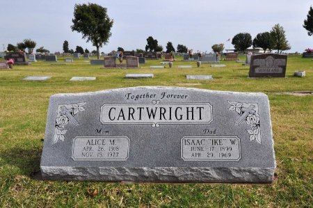 CARTWRIGHT, ALICE - Tulsa County, Oklahoma | ALICE CARTWRIGHT - Oklahoma Gravestone Photos