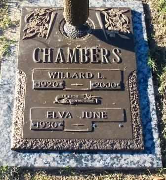 DAVIS CHAMBERS, ELVA JUNE - Tulsa County, Oklahoma   ELVA JUNE DAVIS CHAMBERS - Oklahoma Gravestone Photos