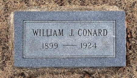 CONARD, WILLIAM J. - Tulsa County, Oklahoma | WILLIAM J. CONARD - Oklahoma Gravestone Photos