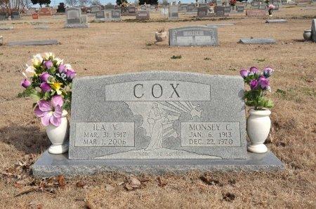 COX, ILA V. - Tulsa County, Oklahoma | ILA V. COX - Oklahoma Gravestone Photos