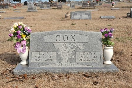 COX, MONSEY C. - Tulsa County, Oklahoma | MONSEY C. COX - Oklahoma Gravestone Photos
