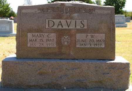 DAVIS, MARY C - Tulsa County, Oklahoma | MARY C DAVIS - Oklahoma Gravestone Photos