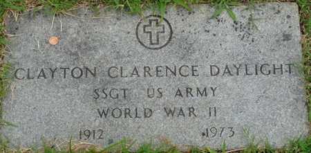 DAYLIGHT (VETERAN WWII), CLAYTON CLARENCE - Tulsa County, Oklahoma | CLAYTON CLARENCE DAYLIGHT (VETERAN WWII) - Oklahoma Gravestone Photos