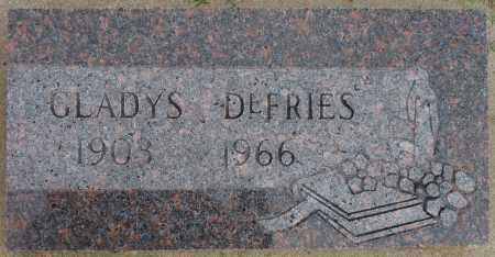 DEFRIES, GLADYS - Tulsa County, Oklahoma | GLADYS DEFRIES - Oklahoma Gravestone Photos