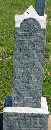 "DEFRIES, MABLE GERTRUDE ""GERTIE"" - Tulsa County, Oklahoma | MABLE GERTRUDE ""GERTIE"" DEFRIES - Oklahoma Gravestone Photos"