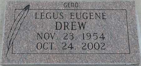 "DREW, LEGUS EUGENE ""GENO"" - Tulsa County, Oklahoma | LEGUS EUGENE ""GENO"" DREW - Oklahoma Gravestone Photos"