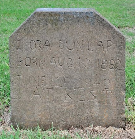 DUNLAP, IZORA - Tulsa County, Oklahoma | IZORA DUNLAP - Oklahoma Gravestone Photos