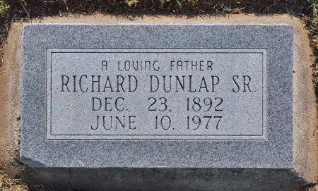 DUNLAP, RICHARD - Tulsa County, Oklahoma | RICHARD DUNLAP - Oklahoma Gravestone Photos