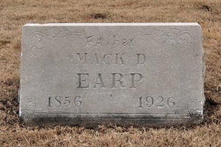 EARP, MACK D. - Tulsa County, Oklahoma | MACK D. EARP - Oklahoma Gravestone Photos