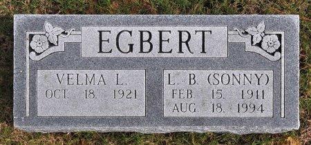 "EGBERT, LOUIS BOND ""SONNY"" - Tulsa County, Oklahoma   LOUIS BOND ""SONNY"" EGBERT - Oklahoma Gravestone Photos"