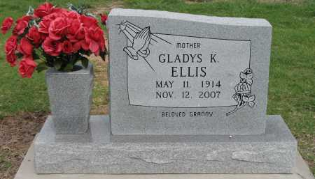 ELLIS, GLADYS K - Tulsa County, Oklahoma | GLADYS K ELLIS - Oklahoma Gravestone Photos