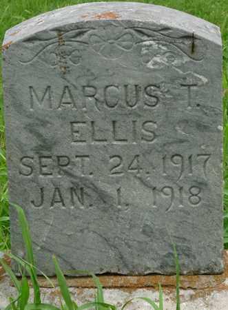 ELLIS, MARCUS T - Tulsa County, Oklahoma | MARCUS T ELLIS - Oklahoma Gravestone Photos