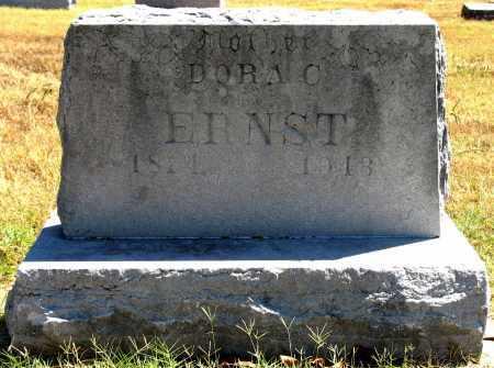 ERNST, DORA C - Tulsa County, Oklahoma | DORA C ERNST - Oklahoma Gravestone Photos