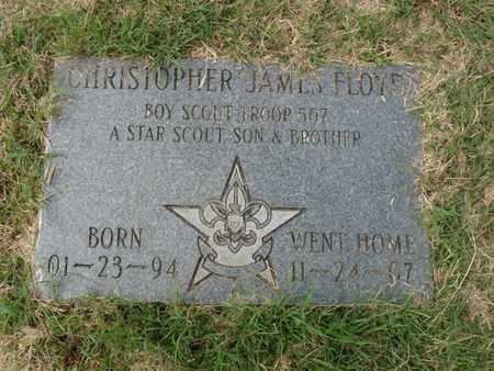 FLOYD, CHRISTOPHER JAMES - Tulsa County, Oklahoma | CHRISTOPHER JAMES FLOYD - Oklahoma Gravestone Photos