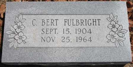 FULBRIGHT, C BERT - Tulsa County, Oklahoma | C BERT FULBRIGHT - Oklahoma Gravestone Photos