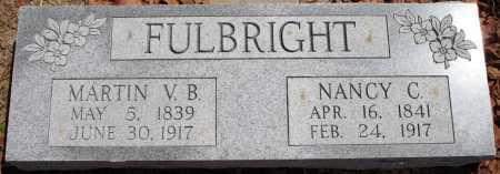 FULBRIGHT, MARTIN V B - Tulsa County, Oklahoma | MARTIN V B FULBRIGHT - Oklahoma Gravestone Photos