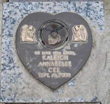 GEE, KALEIGH ANNABELLE - Tulsa County, Oklahoma | KALEIGH ANNABELLE GEE - Oklahoma Gravestone Photos