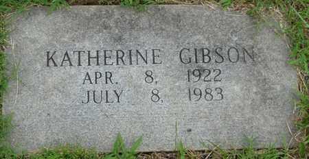 GIBSON, KATHERINE - Tulsa County, Oklahoma | KATHERINE GIBSON - Oklahoma Gravestone Photos