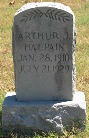HALPAIN, ARTHUR J - Tulsa County, Oklahoma | ARTHUR J HALPAIN - Oklahoma Gravestone Photos