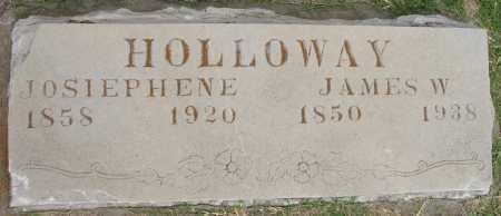 HOLLOWAY, JOSIEPHENE - Tulsa County, Oklahoma | JOSIEPHENE HOLLOWAY - Oklahoma Gravestone Photos