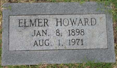 HOWARD, ELMER - Tulsa County, Oklahoma | ELMER HOWARD - Oklahoma Gravestone Photos