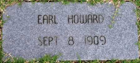 HOWARD, EARL - Tulsa County, Oklahoma | EARL HOWARD - Oklahoma Gravestone Photos