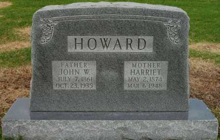 HOWARD, JOHN W - Tulsa County, Oklahoma | JOHN W HOWARD - Oklahoma Gravestone Photos