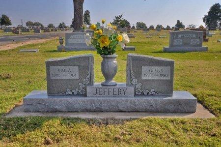 JEFFREY, GLENN B. - Tulsa County, Oklahoma   GLENN B. JEFFREY - Oklahoma Gravestone Photos