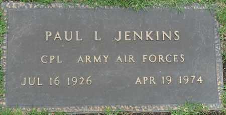 JENKINS (VETERAN), PAUL L - Tulsa County, Oklahoma | PAUL L JENKINS (VETERAN) - Oklahoma Gravestone Photos