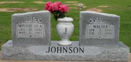 JOHNSON, MINNIE OLA - Tulsa County, Oklahoma | MINNIE OLA JOHNSON - Oklahoma Gravestone Photos