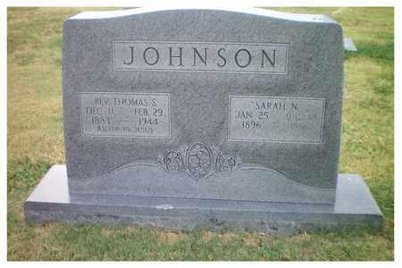 JOHNSON, SARAH NAOMI - Tulsa County, Oklahoma | SARAH NAOMI JOHNSON - Oklahoma Gravestone Photos