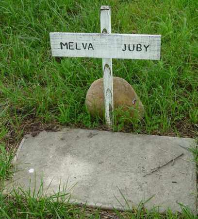 JUBY, MELVA - Tulsa County, Oklahoma   MELVA JUBY - Oklahoma Gravestone Photos