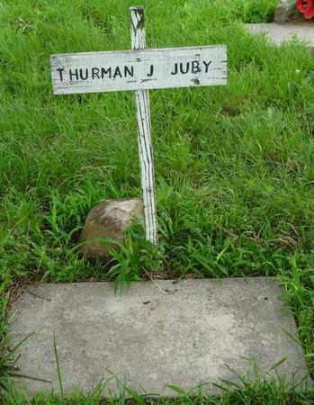 JUBY, THURMAN J - Tulsa County, Oklahoma | THURMAN J JUBY - Oklahoma Gravestone Photos