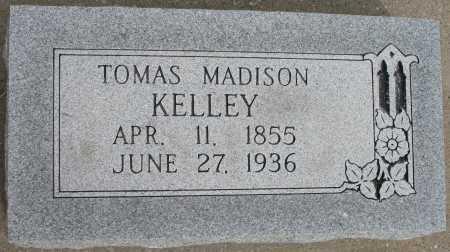 KELLEY, TOMAS MADISON - Tulsa County, Oklahoma | TOMAS MADISON KELLEY - Oklahoma Gravestone Photos